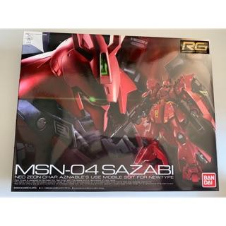 Mô hình Gundam RG Sazabi Gundam !