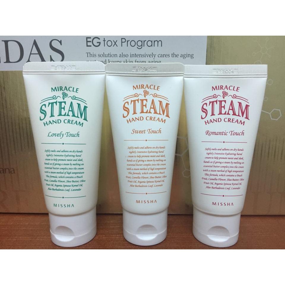 Kem dưỡng da tay MISSHA Miracle Steam Hand Cream (Sweet Touch) - 3355616 , 941967189 , 322_941967189 , 160000 , Kem-duong-da-tay-MISSHA-Miracle-Steam-Hand-Cream-Sweet-Touch-322_941967189 , shopee.vn , Kem dưỡng da tay MISSHA Miracle Steam Hand Cream (Sweet Touch)