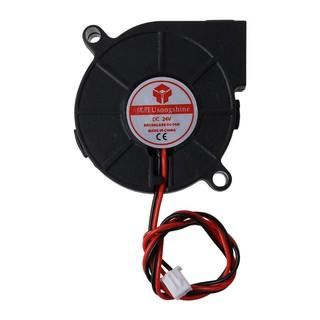 Wond 3D Printer Cooling Fan 5015 50x50x15mm Centrifugal Blower Fan 5V 12V 24V 2-Pin Brushless Cooling Cooler Fan