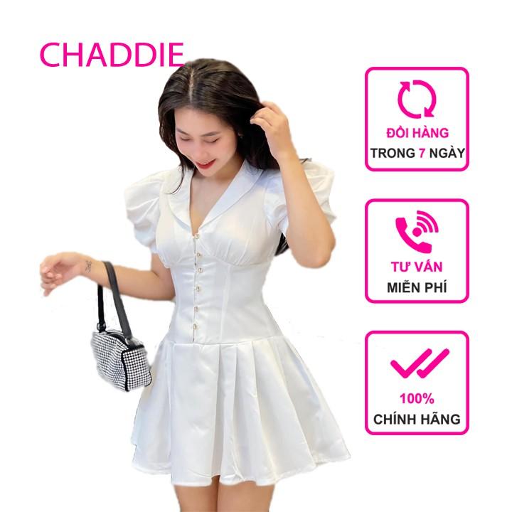 Mặc gì đẹp: Sang chảnh với Đầm dự tiệc, dạo phố tay bổng phối nút xòe nhẹ xinh xắn - Uni Dress
