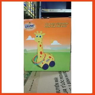 [Sale OFF] Bộ đồ chơi vận động hươu ném vòng cao cổ khuyến mãi hết giá