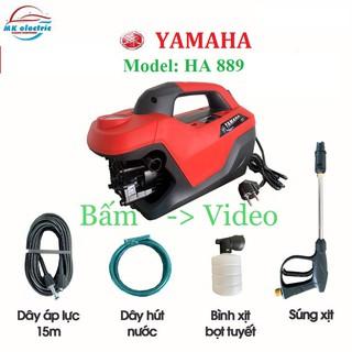 [ BH 24 THÁNG ] Máy rửa xe mini I Máy rửa xe cao áp YAMAHA 2800W HA889 – Có áp chống giật – Chống cháy