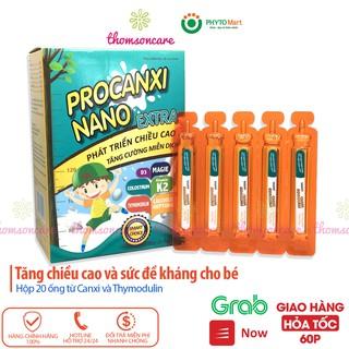 Bổ sung canxi và tăng sức đề kháng với Thymodulin và FOS Procanxi Nano Hộp 20 ống tiện lợi thumbnail