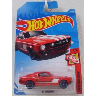Xe mô hình Hot Wheels '67 Mustang FJX91