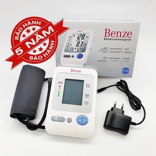 [NHẬP KHẨU ĐỨC] Máy đo huyết áp điện tử Bắp tay Benze BP1304 – Đo đo nhịp tim – Tiêu chuẩn WHO – Bảo hành 5 năm