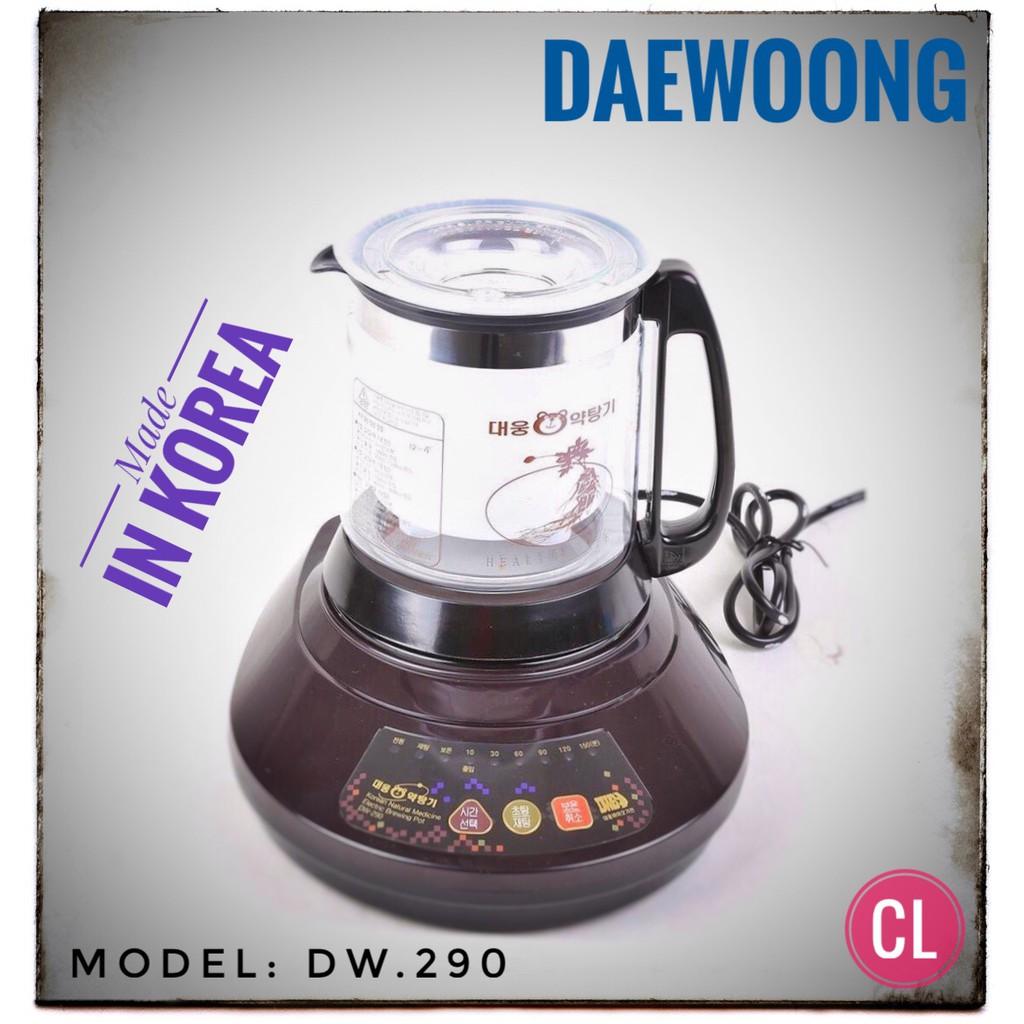 Ấm sắc thuốc Hàn Quốc Daewoong DW-290 - 3088993 , 772785877 , 322_772785877 , 2080000 , Am-sac-thuoc-Han-Quoc-Daewoong-DW-290-322_772785877 , shopee.vn , Ấm sắc thuốc Hàn Quốc Daewoong DW-290