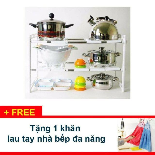 Kệ gầm bếp đa năng co dãn - 3331383 , 1089038801 , 322_1089038801 , 109000 , Ke-gam-bep-da-nang-co-dan-322_1089038801 , shopee.vn , Kệ gầm bếp đa năng co dãn