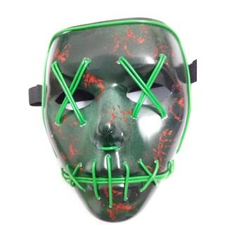 Mặt nạ Thanh trừng có đèn LED hóa trang Halloween-j42