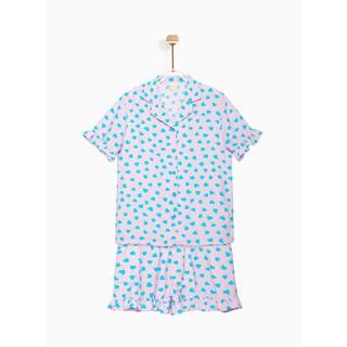Bộ Pyjama Mặc Nhà Ngắn Tay Bé Gái M.D.K