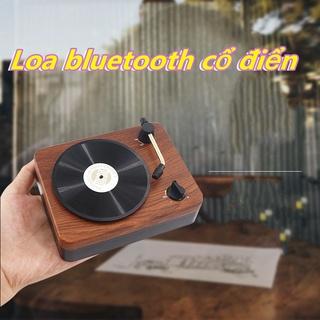 Loa Bluetooth Loa mini ghi âm vinyl sáng tạo di động nhỏ thumbnail