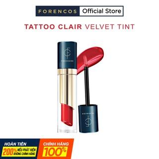 Son Kem Lì FORENCOS TATTO CLAIR Velvet Tint Chính Hãng Màu #11 – #21