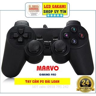 TAY CẦM CHƠI GAME CAO CẤP CẮM CỔNG USB, THƯƠNG HIỆU MARVO GAMING thumbnail