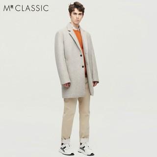 Áo Dạ Dáng Dài Nam Mr Classic CashMere Blended Wool Bản Hàn -Săn Sale