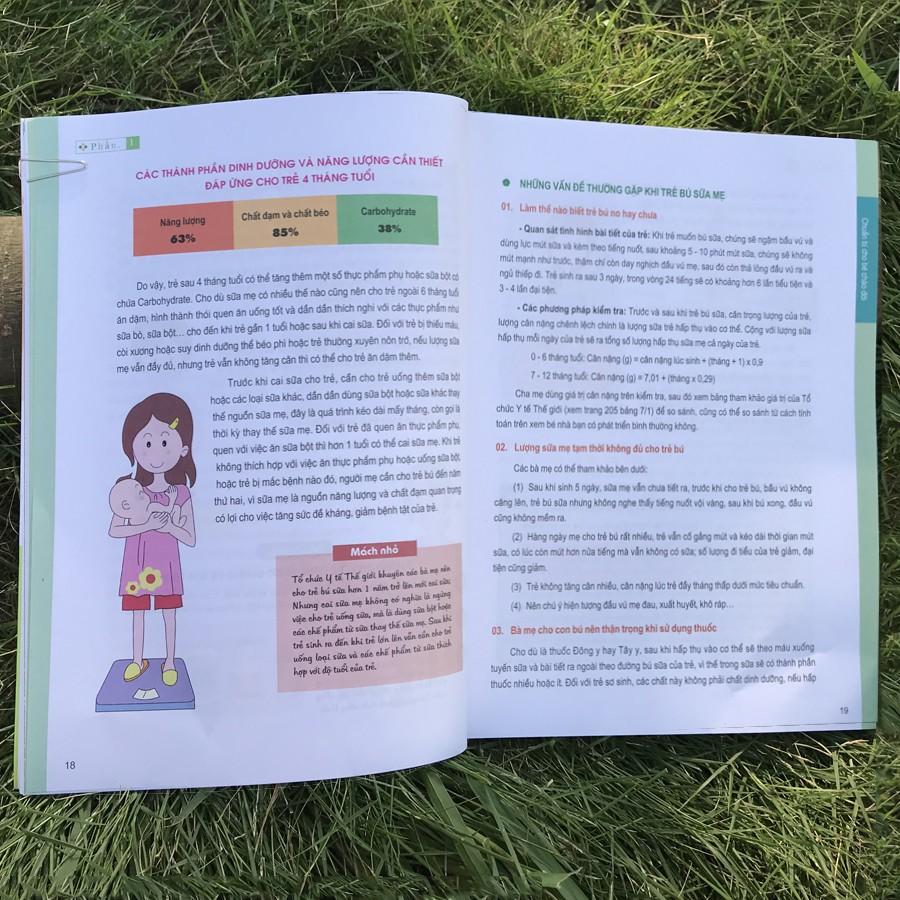 Sách - Thực Đơn Dinh Dưỡng Cho Trẻ 0-3 Tuổi