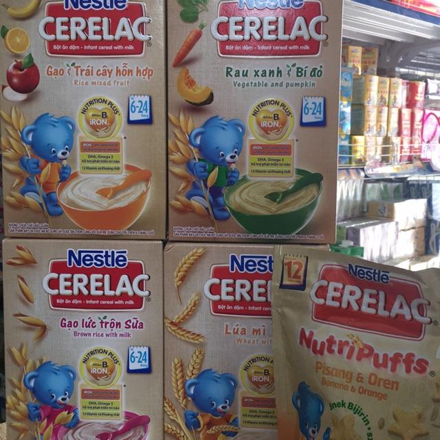 Combo 4 hộp bột ăn dặm Cerelac 200g ( lúa mì, gạo lức, rau bí, gạo trái cây) tặng bánh ăn dặm 50g - 3276696 , 650826919 , 322_650826919 , 247000 , Combo-4-hop-bot-an-dam-Cerelac-200g-lua-mi-gao-luc-rau-bi-gao-trai-cay-tang-banh-an-dam-50g-322_650826919 , shopee.vn , Combo 4 hộp bột ăn dặm Cerelac 200g ( lúa mì, gạo lức, rau bí, gạo trái cây) tặng b