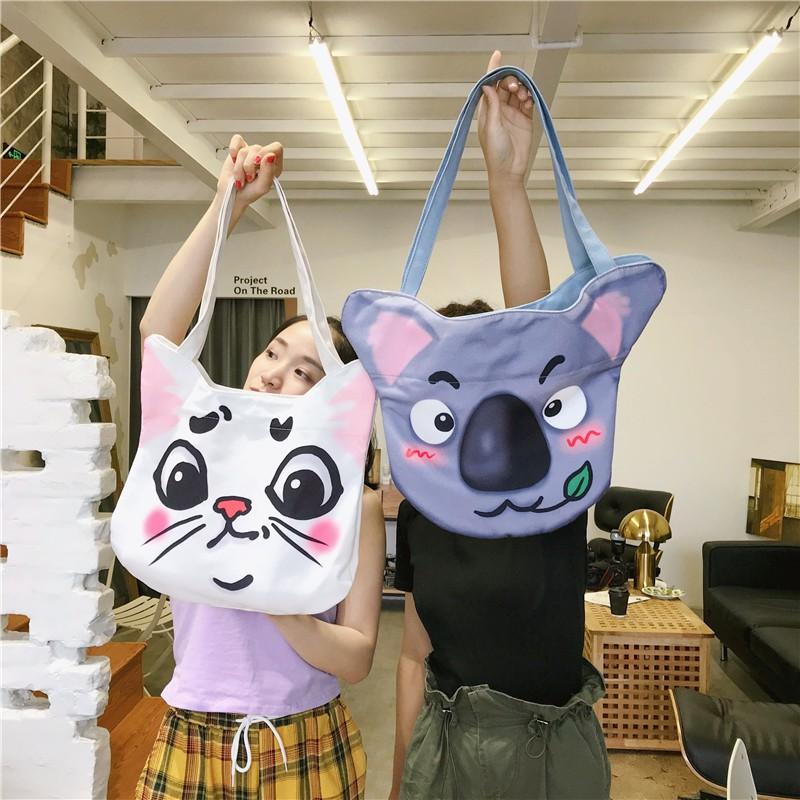 Simple stylish women's handbag Korean style