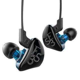 KZ ES3 Hybrid Dynamic And Balanced Armature Earphone In Ear HIFI DJStereo Headset Suitable Bluetooth