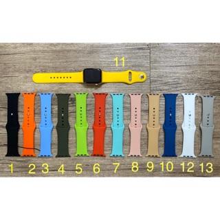 Dây đồng hồ apple watch/dây chống bẩn/dây cao su/dây silicon - HÀNG MỚI VỀ