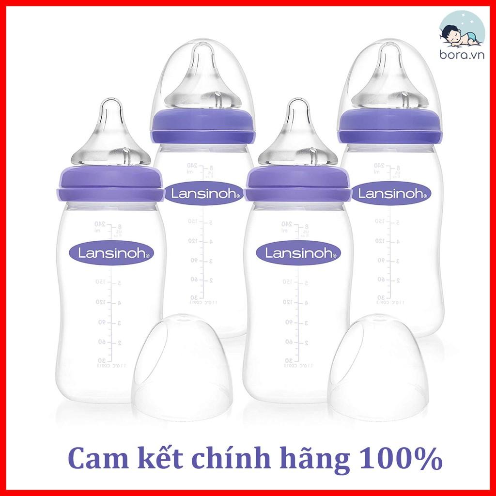 Bình sữa Lansinoh 160 240ml [Cam kết chính hãng]