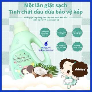 Nước Giặt xà Phòng Quần áo Trẻ em Aaung Hàn Quốc Cao Cấp 2L Cho bé Trẻ sơ Sinh thumbnail