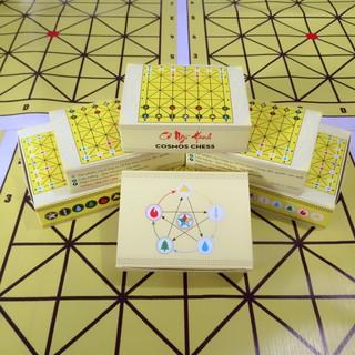 """Combo 5 bộ """"Cờ ngũ hành – Cosmos Chess"""""""