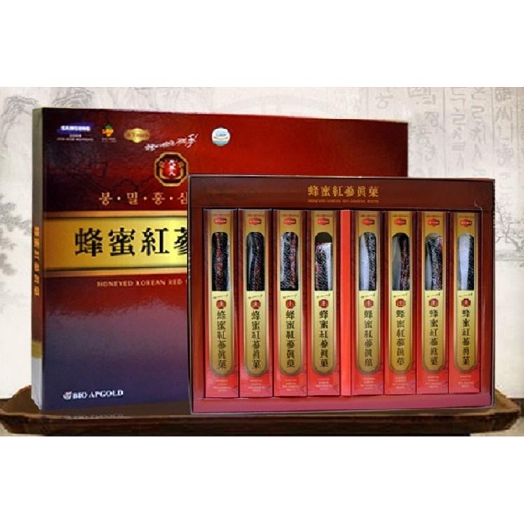 Sâm Hàn Quốc Nguyên Củ Tẩm Mật Ong Bio Apgold - 2830611 , 257831175 , 322_257831175 , 1200000 , Sam-Han-Quoc-Nguyen-Cu-Tam-Mat-Ong-Bio-Apgold-322_257831175 , shopee.vn , Sâm Hàn Quốc Nguyên Củ Tẩm Mật Ong Bio Apgold