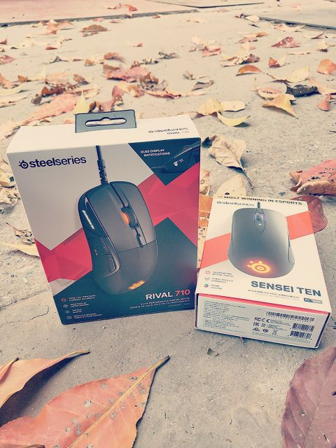 Chuột chơi game Steelseries Sensei Ten Wired Ambidextrous Gaming Mouse 18.000 CPI