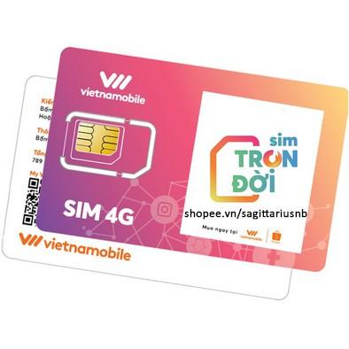 Sim Trọn Đời  Miễn phí 6GB/ ngày/ 60 ngày- Ưu đãi SỐC Miễn phí 2 tháng sử dụng (360GB) chia đều mỗi ngày 6GB