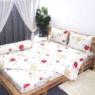 Bộ drap Thắng Lợi 1m4 4 món ga trải giường
