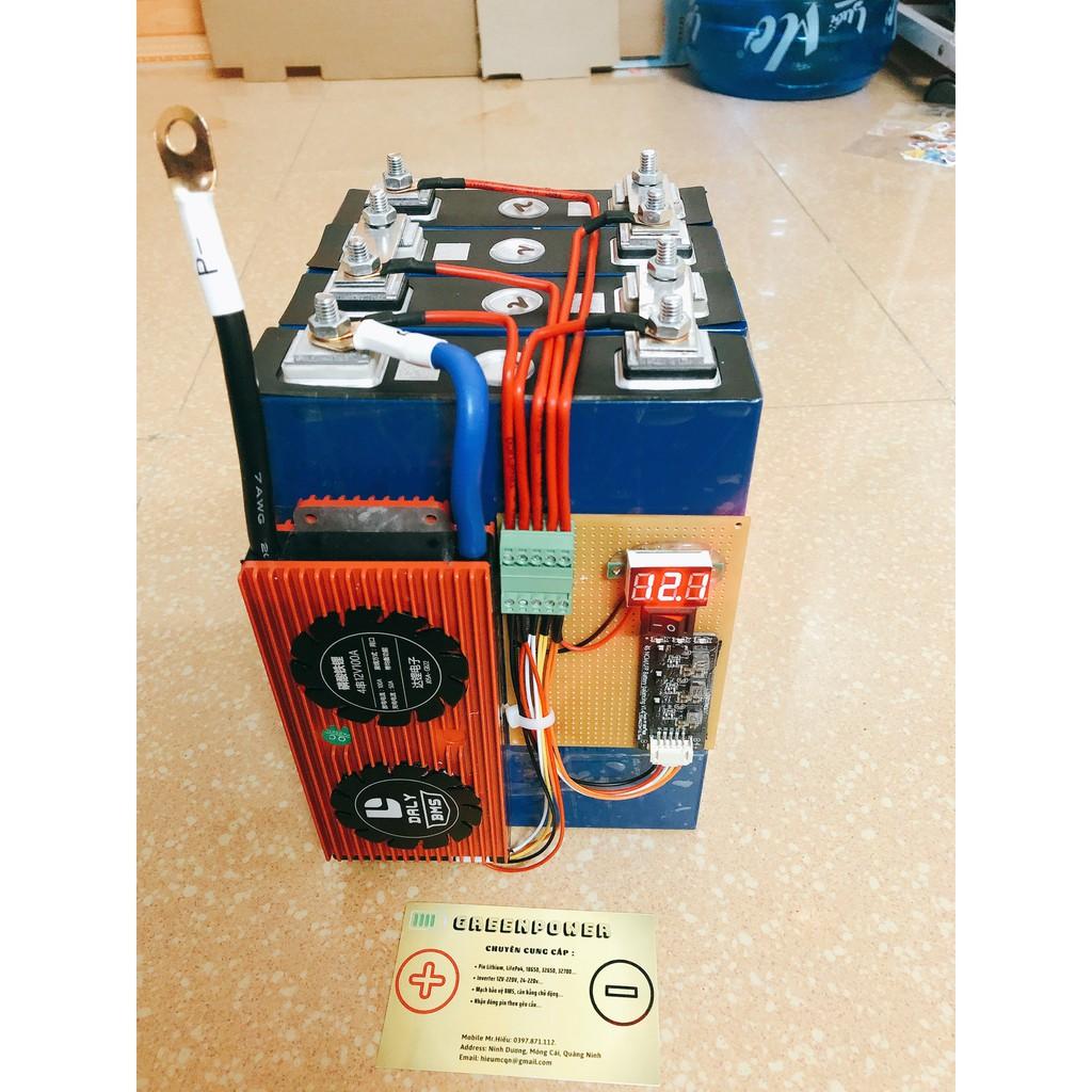 Hệ pin Lithium, LiFePo4 12V 100AH