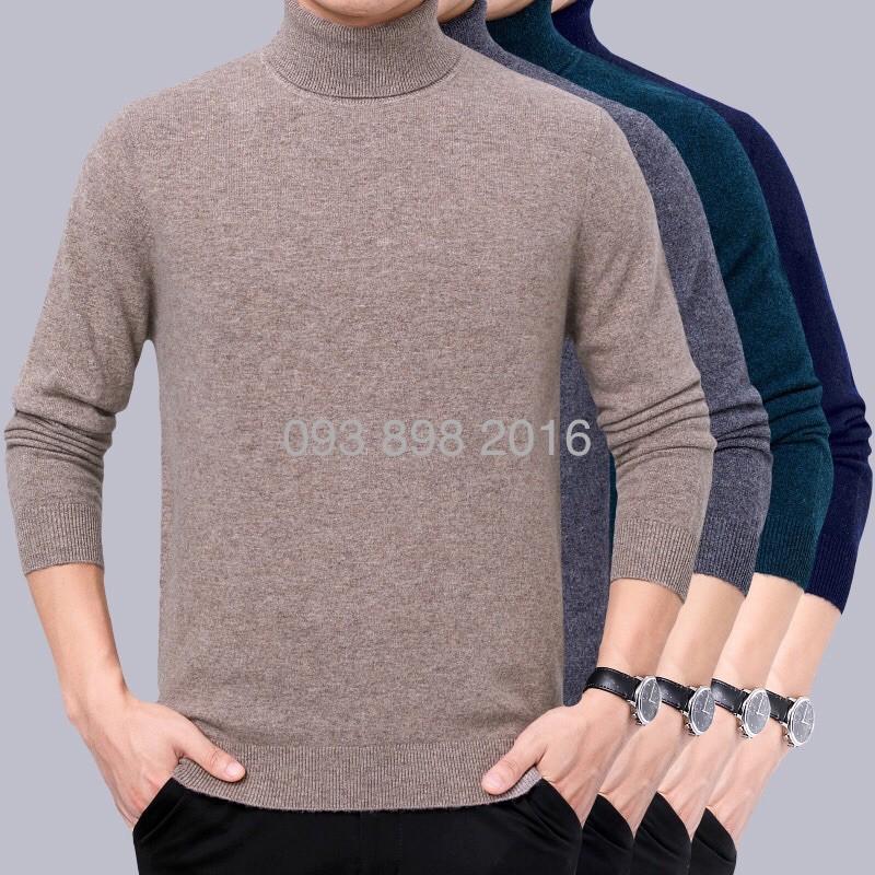 Áo len cổ lọ nam trung tuôi cho bố (nhiều màu)