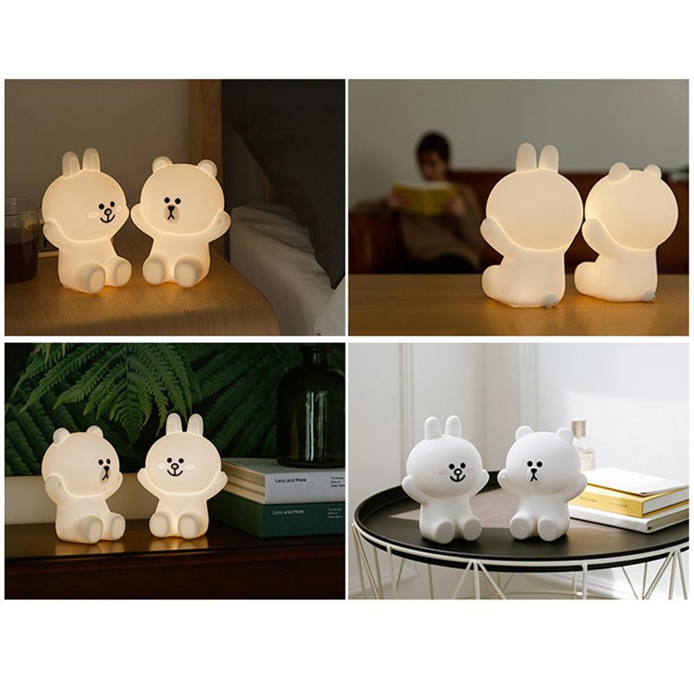 Đèn Ngủ Led Hình Thỏ Cony Dễ Thương Cho Bé