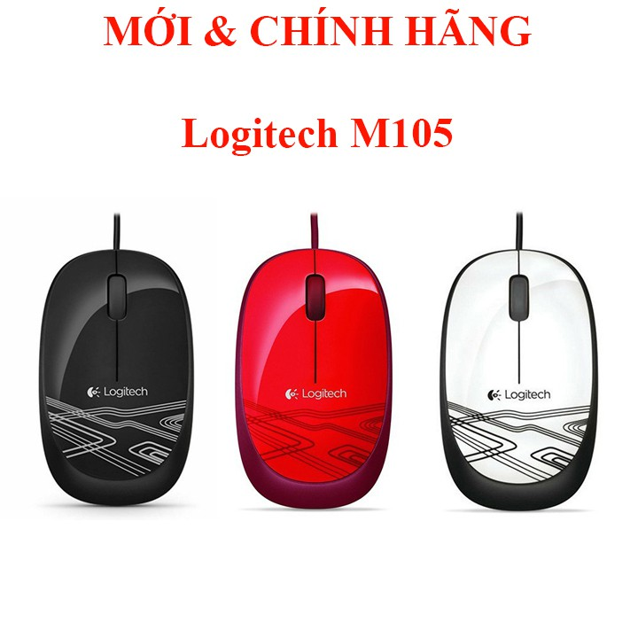 Chuột quang Logitech M105 ĐỘ TIN CẬY ĐẾN TỪ LOGITECH
