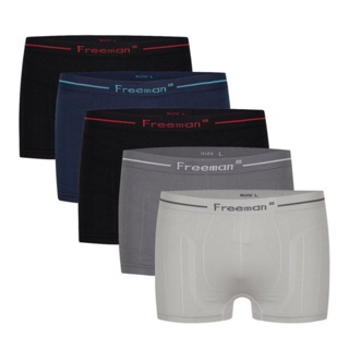 Combo 5 Quần lót dệt kim Boxer Freeman
