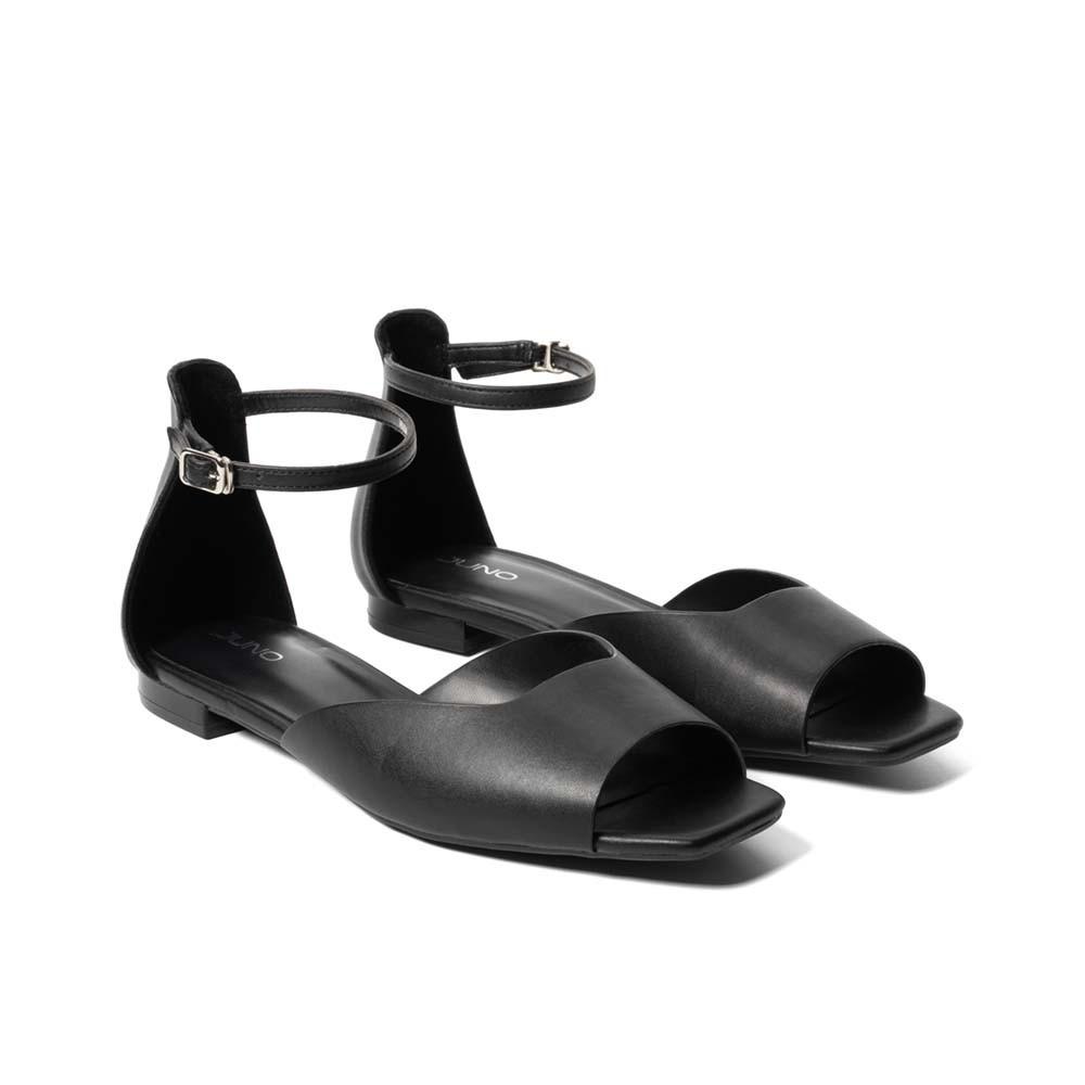 Juno - Giày sandal hở mũi có dây cổ chân SD