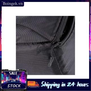 Boingek Overlap Zipper Padded Bag Pouch W/Carry Strap For Canon Sony DSLR Camera Lens