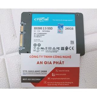 SSD 2.5 CRUCIAL 240GB tháo máy