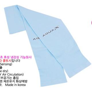 Ống tay chống nắng chính hãng AquaX Hàn Quốc - Màu Aqua thumbnail