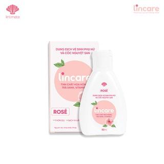 Dung dịch vệ sinh phụ nữ và cốc nguyệt san Lincare Rose 50ml [Chính Hãng] thumbnail