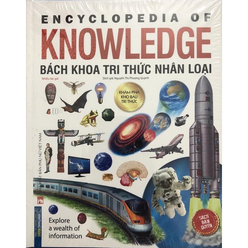 Sách Bách khoa tri thức nhân loại ( Bìa cứng )