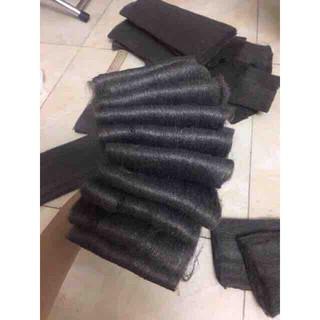 Bùi Nhùi Thép Pháo Quay Steel Wool Dài 1m hàng chính hãng