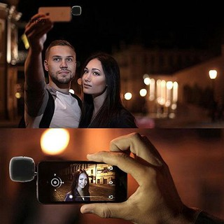 Đèn Led Mini Kẹp Điện Thoại Hỗ Trợ Chụp Ảnh Selfie 16 Bóng Tiện Dụng