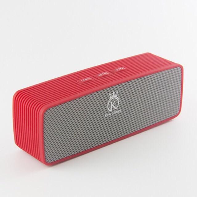 Loa bluetooth Đa Năng Cao Cấp KING CROWN JC - 170 đỏ (USB,Thẻ nhớ,FM)