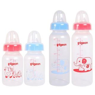 Bình sữa Pigeon 120ml 240ml nhựa PP tiêu chuẩn - Bình Sữa Pigeon Cổ Hẹp 120ml 240ml
