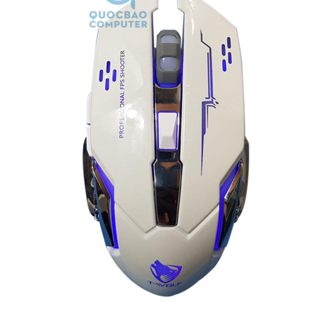 Chuột Gaming có dây T-WOLF V6 Led