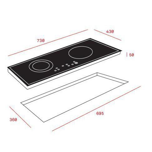 Bếp từ Teka IZ 7210, bếp từ, bếp điện từ, bếp từ đôi, bếp điện từ đôi, bếp từ giá rẻ, bếp điện từ giá rẻ, bếp từ giá tốt