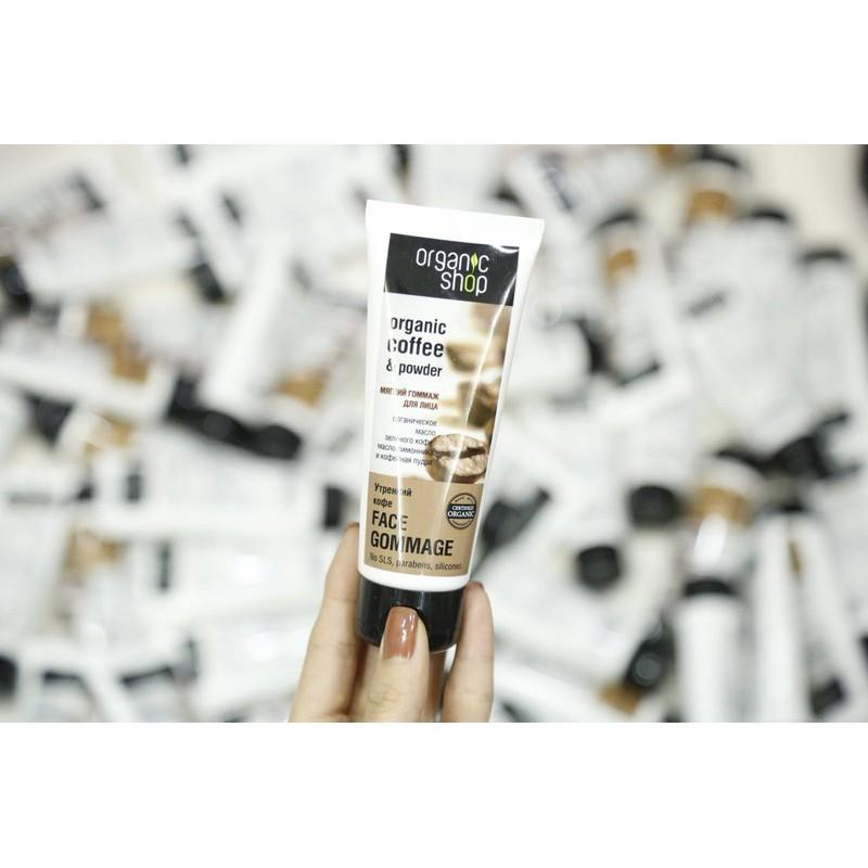 Combo 10 Tup Tẩy Da Chết Mặt Organic Shop Organic Coffee & Powder 75ml - Siêu Phẩm Tẩy Da Chết Mặt - 3565406 , 1248555036 , 322_1248555036 , 900000 , Combo-10-Tup-Tay-Da-Chet-Mat-Organic-Shop-Organic-Coffee-Powder-75ml-Sieu-Pham-Tay-Da-Chet-Mat-322_1248555036 , shopee.vn , Combo 10 Tup Tẩy Da Chết Mặt Organic Shop Organic Coffee & Powder 75ml - Siêu