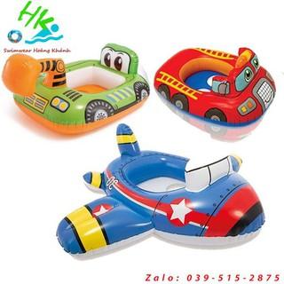 Phao bơi chống lật cho bé tập bơi, phao bơi xe múc, máy cẩu, phao bơi hình máy bay, phao bơi hình oto, áo phao trẻ em