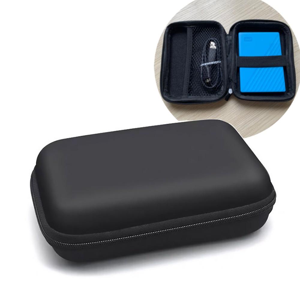 Hộp túi phụ kiện điện thoại, túi công nghệ khung cứng chống sốc cho ổ cứng di động 2.5in, pin dự phòng, bộ sạc, tai nghe