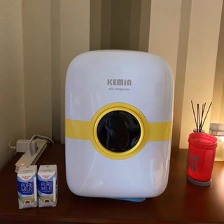 (sẵn) tủ lạnh mini kemin 22l hàng nội địa trung dùng cho cả oto và gia đình – sẵn 1 chip và 2 chip k đèn led